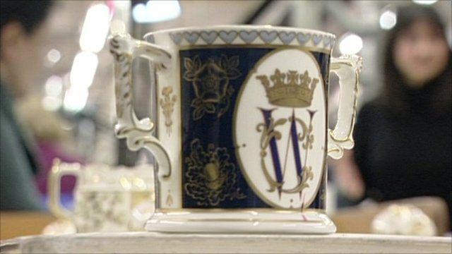 Royal Wedding china mug