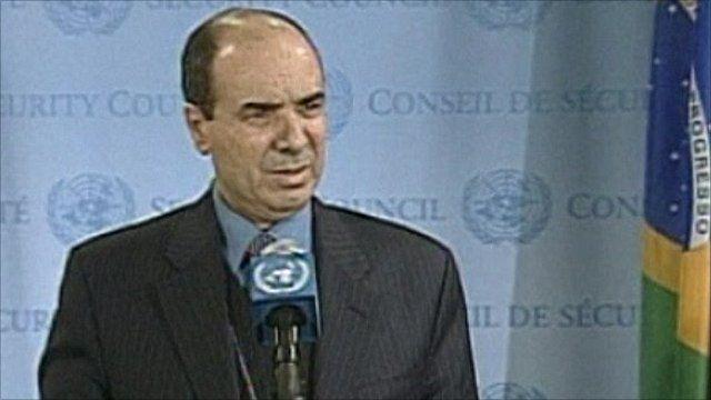 Libyan Deputy Ambassador to the UN Ibrahim Dabbashi