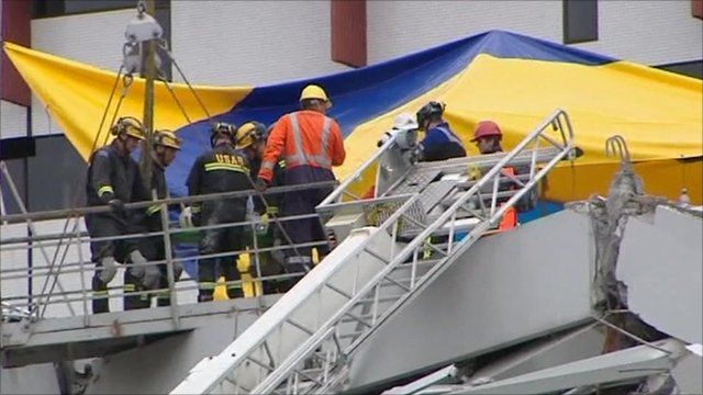 Rescue efforts after New Zealand earthquake
