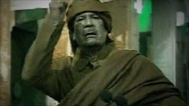 Colonel Gaddafi