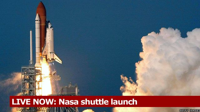 LIVE NOW: Nasa shuttle launch