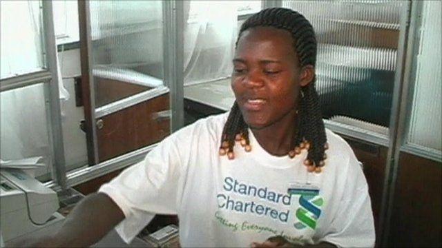 Standard Chartered worker