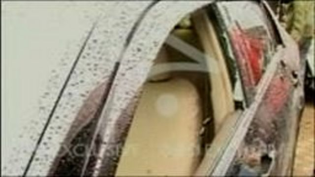 Shahbaz Bhatti's vehicle was riddled with bullets