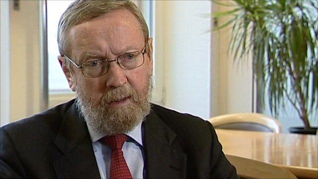 Sir John Beddington, chief science advisor to the government