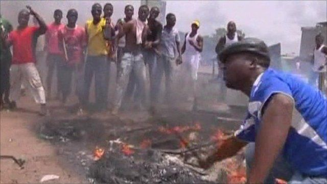 Pro-Ouattara supporters