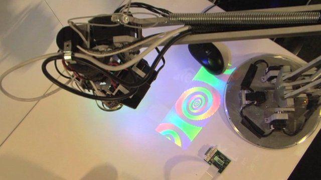 The LuminAR Lamp