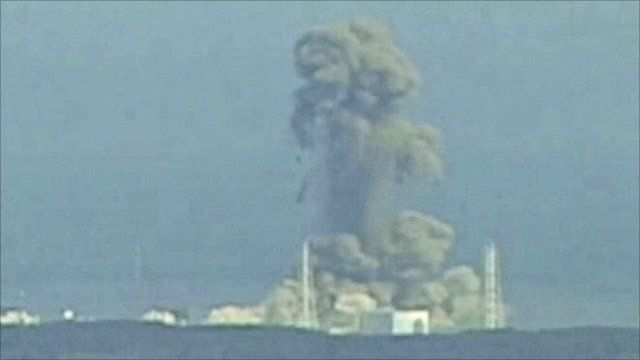 Explosion at nuclear plant in Japan