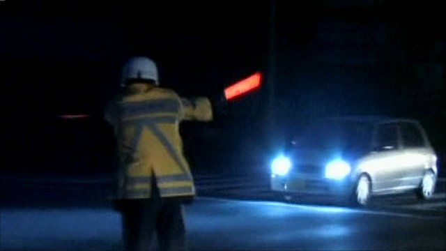 Traffic control during blackout