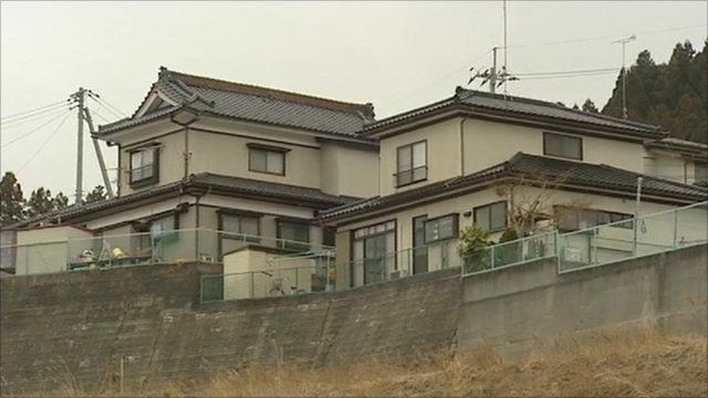 Home not destroyed by tsunami