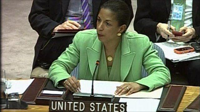 US ambassador Susan Rice