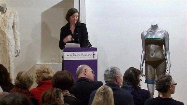 Kate Middleton's dress at auction