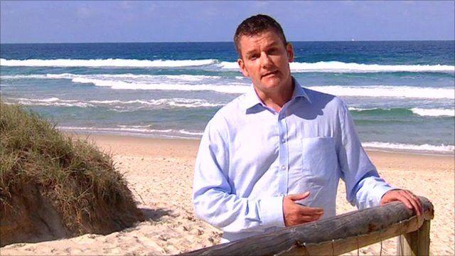 Phil Mercer in Queensland