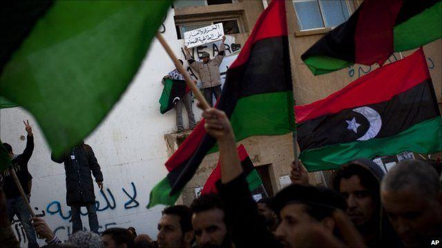 Rally in Benghazi