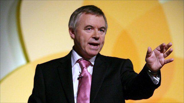 Plaid Cymru leader Ieuan Wyn Jones
