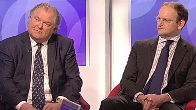 Digby Jones and Douglas Carswell