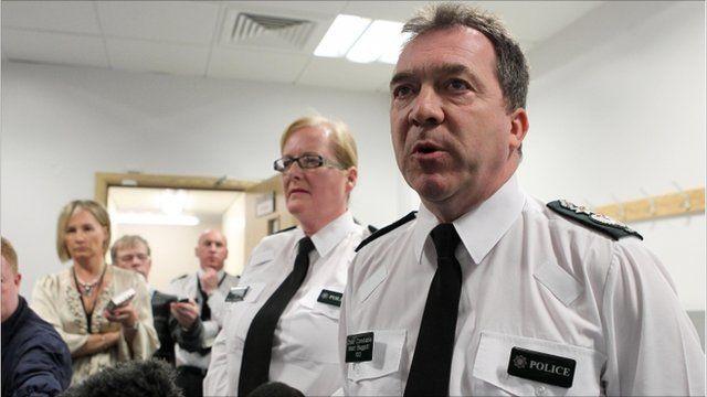 Chief Constable Matt Baggott at press conference
