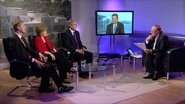 Studio debate from Edinburgh