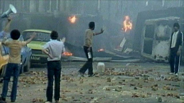Aftermath of Brixton riots, 1981