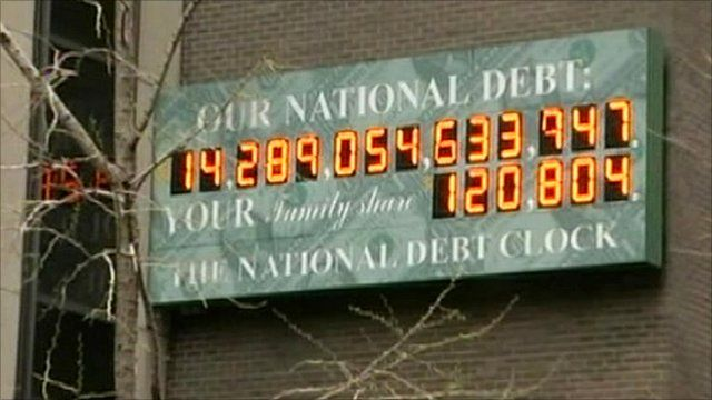 US national debt clock