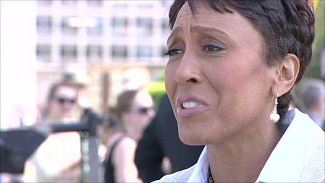 ABC presenter Robin Roberts