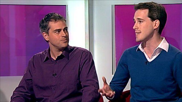 Stephen Parkinson and Jonathan Bartley