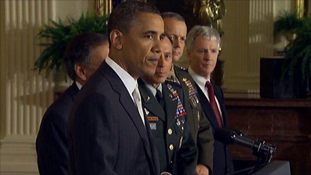 President Barack Obama leading a news conference