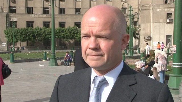 UK Foreign Minister William Hague