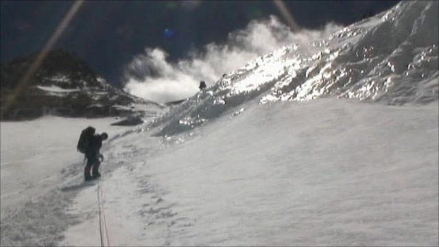 Kenton Cool at Everest