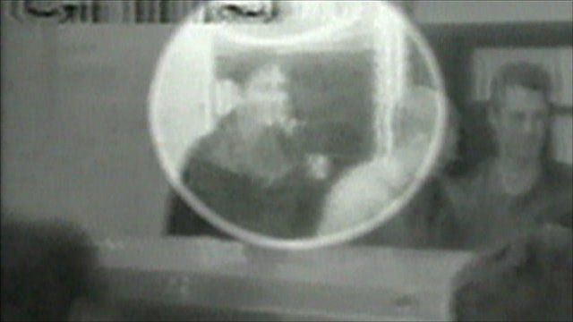 CCTV of Damien on the night he vanished