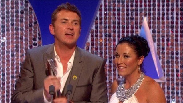 Shane Ritchie and Jessie Wallace
