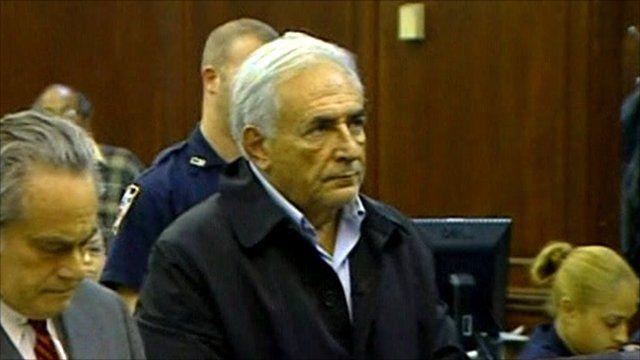 Dominique Strauss-Kahn in court