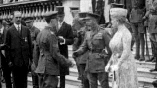 George V official visit to Dublin in 1911