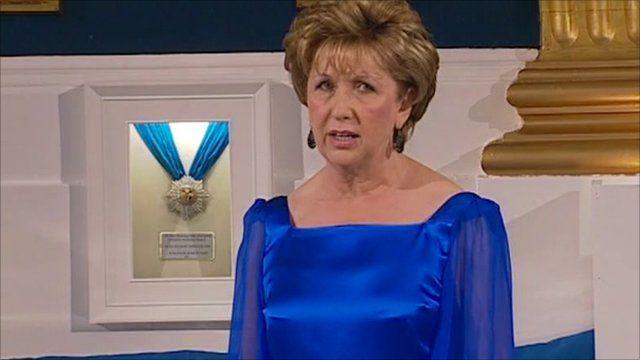 Irish President, Mary McAleese