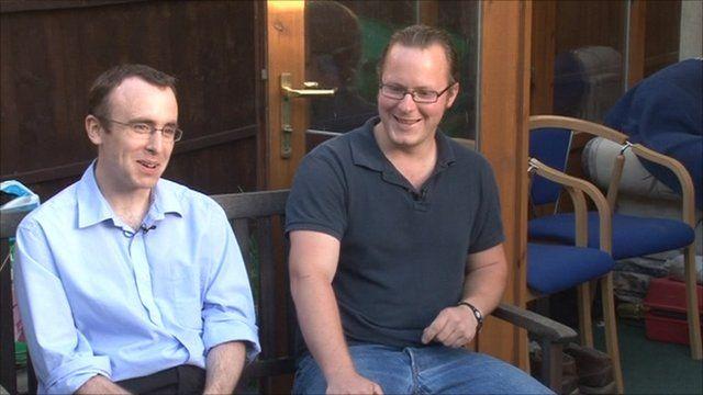 Neil Tippett and Andy Jones
