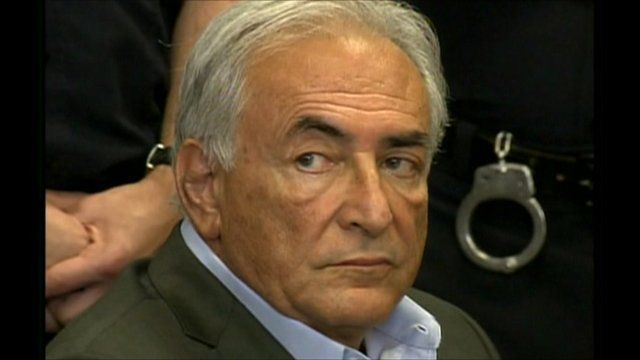 Dominique Strauss-Kahn in court