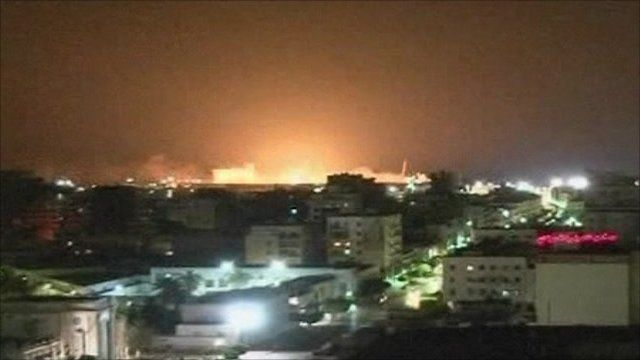 Explosion at Tripoli's port