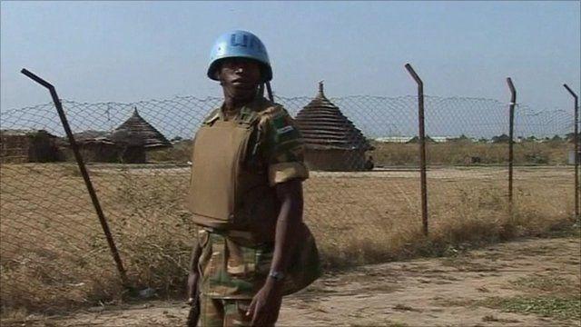 UN forces in Sudan