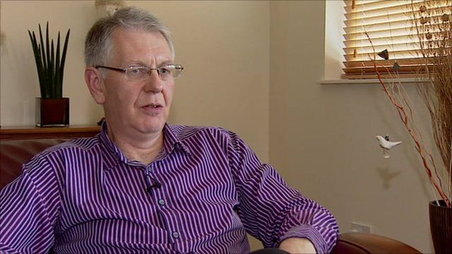 Richard Walker, editor of The Sunday Herald