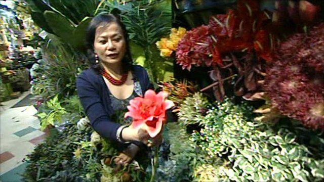 Mimi Rasamee of Pany Silk Flowers