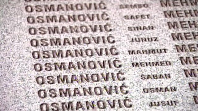 Grave of Osmanovic family