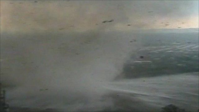 Tornado over the Connecticut River