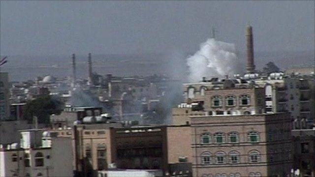 Blasts in Yemeni capital Sanaa