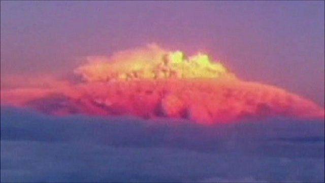 Volcano in Chile