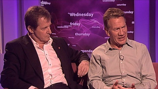 Alastair Campbell and Michael Portillo