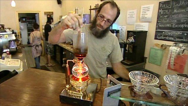 Mike Love, owner of Coffee Labs Roasters