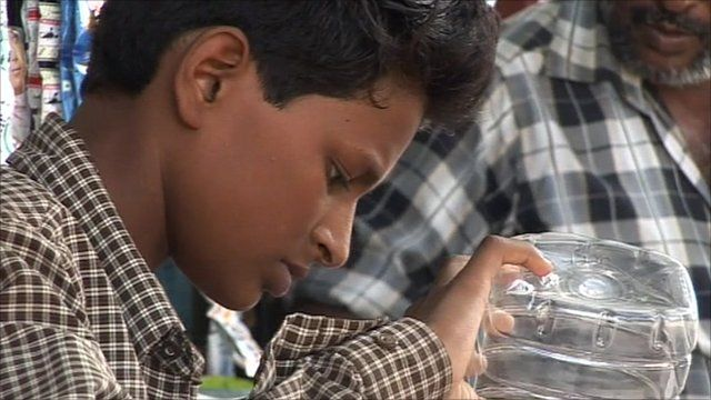 One of India's child workers