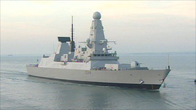 Royal Navy warship