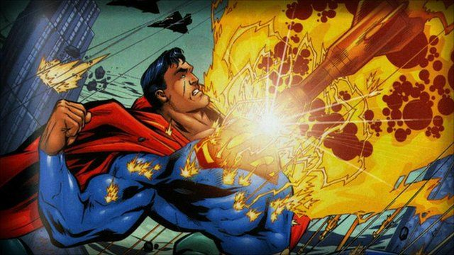 """Superman features in """"Scotland's Amazing Comic Book Heroes"""""""