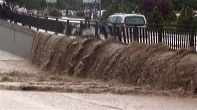 Flood in Ankara