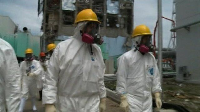 Nuclear plant workers